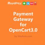 opencart-3的Royalpay付款网关