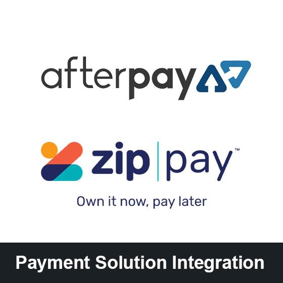 Afterpay zipPay integration