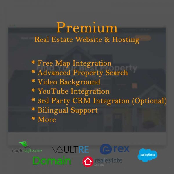 Real Estate Website and Hosting